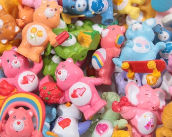 Pick Your Own - Care Bears Vintage Kenner Miniature - HUGE SELECTION - Funshine - Love A Lot - Tenderheart - Baby Hugs ~ Pink Room ~ 170528