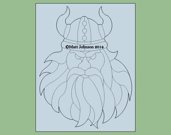 Viking Pattern for Stained Glass