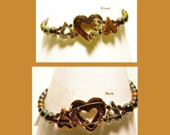 Hearts Bracelet 509C