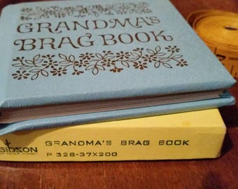 Grandma's Brag Book Photo Album C.R. Gibson