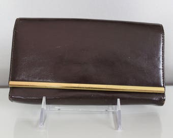 Vintage Authentic Britemode Leather Clutch
