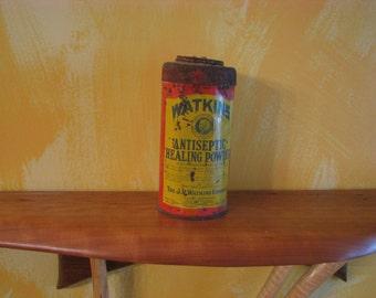 Vintage Watkins Antiseptic Healing Powder