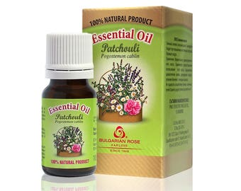 100% Pure Patchouli Essential Oil 10 ml Undiluted Therapeutic Grade