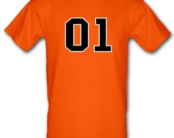DUKES of HAZZARD 01 General Lee Duke Boys Tv Dodge Charger Gildan Heavy Cotton t-shirt All Sizes Small - XXL (kids and adults)