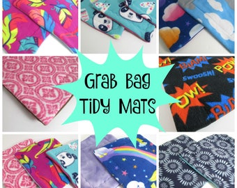 Tidy Mats | Corner Pads | Cage Liners | Puppy Pad | Guinea Pig Fleece | Free Shipping | Cozy & Clean | Grab Bag | Assorted Patterns
