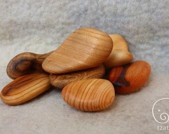 "Wooden Blocks ""The Pebbles"""