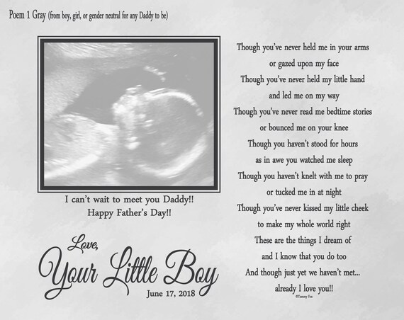 daddy to be fathers day gift gift from unborn baby expecting