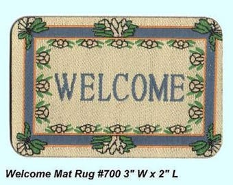 WELCOME MAT woven a real beauty
