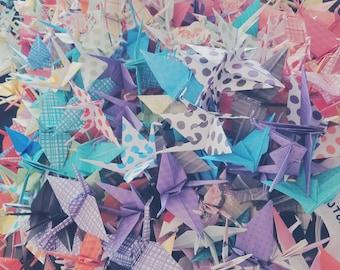 Handmade Paper Cranes