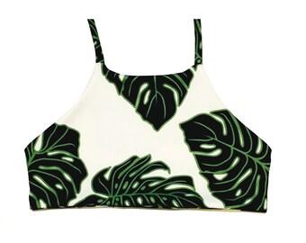 ESSENTIAL HALTER- Reversible Bikini Top by BonVie Bikinis // Made to Order // Gift for Her // Swimwear // Boho // Halter
