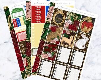 Snow White Essentials Sticker Kit
