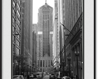 Chicago Board of Trade Photo - Vintage CBOT Print, Picture, Photograph