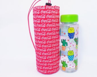 Water bottle holder Red bottle holder Cotton bottle holder water bottle bag pocket for bottel