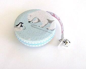 Tape Measure Penguin and Polar Bear Retractable Measuring Tape