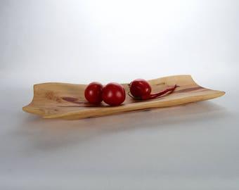 Large Wooden Vessel / Platter