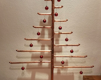 Exclusive 143cm solid copper Christmas tree