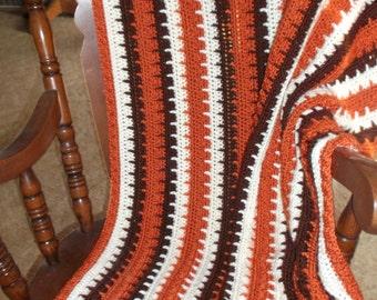 Crocheted Afghan (sm2)