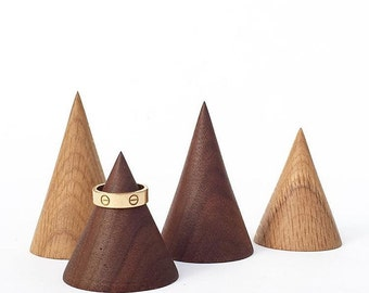 3 Cone Ring Holders