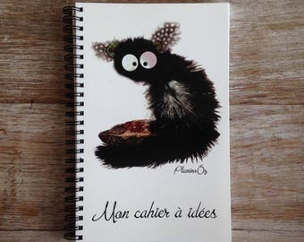 Notebook ideas with lemur to seed