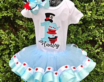 Alice in Wonderland Tutu Set