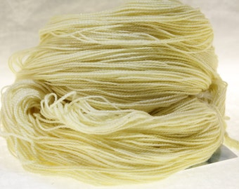 MADE to ORDER Choose Your Weight Hand Dyed Yarn - Sunlight