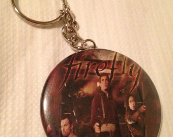 Firefly keychain, Magnet, Mirror or Button