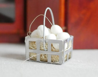 Dollhouse Miniature Eggs