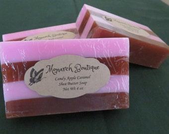 Candy Apple Caramel Shea Butter Soap