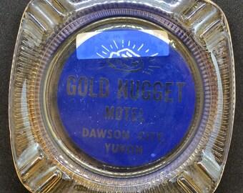 Gold Nugget Motel Ashtray