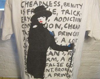 Size XL (46) ** Rare 1995 Boy George Concert Shirt (Double Sided)