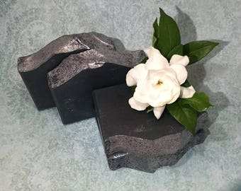 Dr. Peppermint | Handcrafted Artisan Soap | Activated Charcoal | Cold Process | Palm Free | Vegan | Luxury Soap