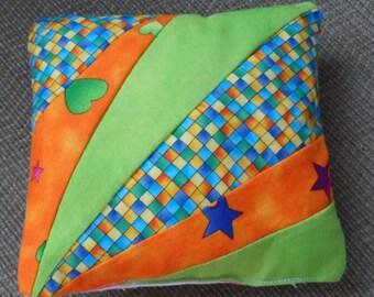 PINCUSHION /Large and Handmade to Hold Needles and Pins /Colourful Square Pincushion /Handy Pincushion / Bright Pincushion 4 Those Who Sew