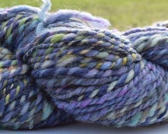 hand spun wool skein