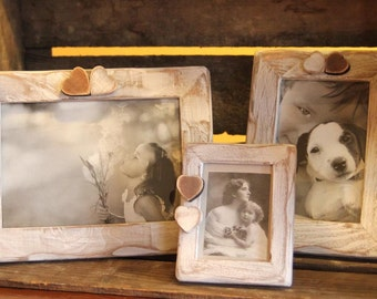 Set of Picture frames, shabby chic style