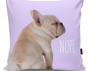 Decorative pillow Nope