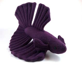 Betta Fish Plushie