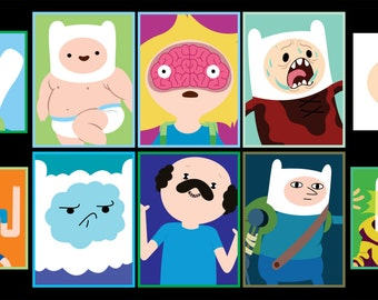 Adventure Time - Finn the Human Sticker 10pk