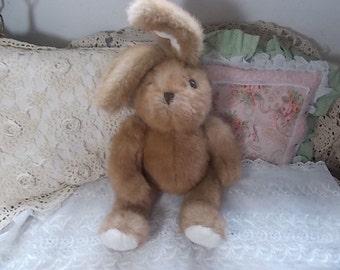 Bunny, Rabbit Stuffed Plushie Bunny,  Stuffed Plushie Rabbit, Vintage Stuffed Toys, Stuffed Toys, Vintage Toy :)s*