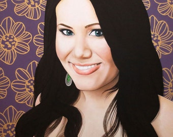 True Beauty - Vivian Bro  -  By Toronto Portrait Artist Malinda Prud'homme