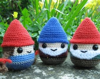 Chubby Gnome Amigurumi Pattern PDF - Gnomes and Christmas characters - Crochet Pattern