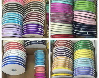 """3/8"""" x 25 yards Grosgrain  - Only  2.30 a roll"""
