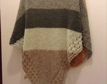 Multicolor Wool Shawl