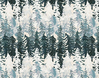 By the YARD FABRIC Valley View Echo, Art Gallery Fabric, Cotton Fabric