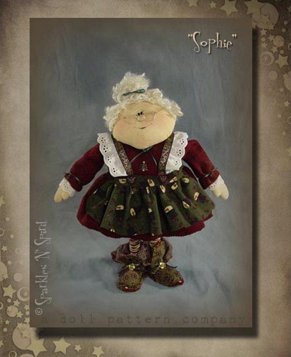 "Pattern: Sophie - 19"" Mrs Claus"