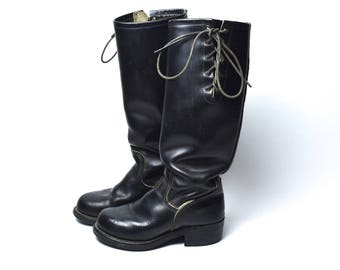 1970's Easyriders NASTY FEET Motorcycle Boots by Chippewa, Women's Size 6