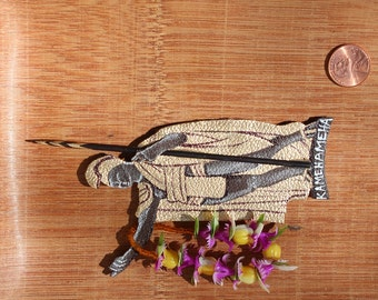 King Kamehameha Statue Pin