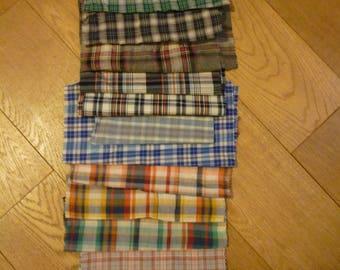 set of 36 patchwork fabrics coupons