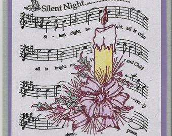 Silent Night Post Card