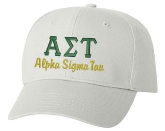 Alpha Sigma Tau hat, Alpha Sigma Tau, sorority hat, greek hat, sorority gift, big little, big little gift, greek gift