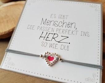 Favorite human Heart Bracelet II 925